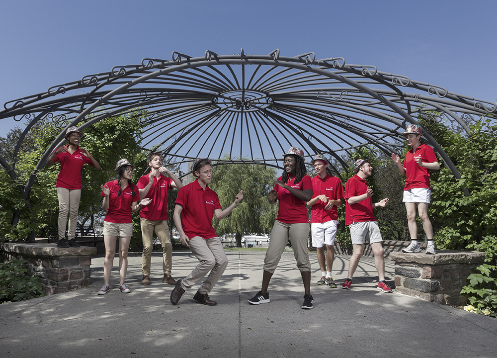 The Waterfront Singing Ambassadors Inform and Perform this Summer