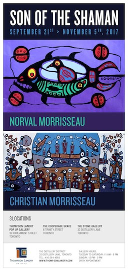 Son of the Shaman Morrisseau Exhibition