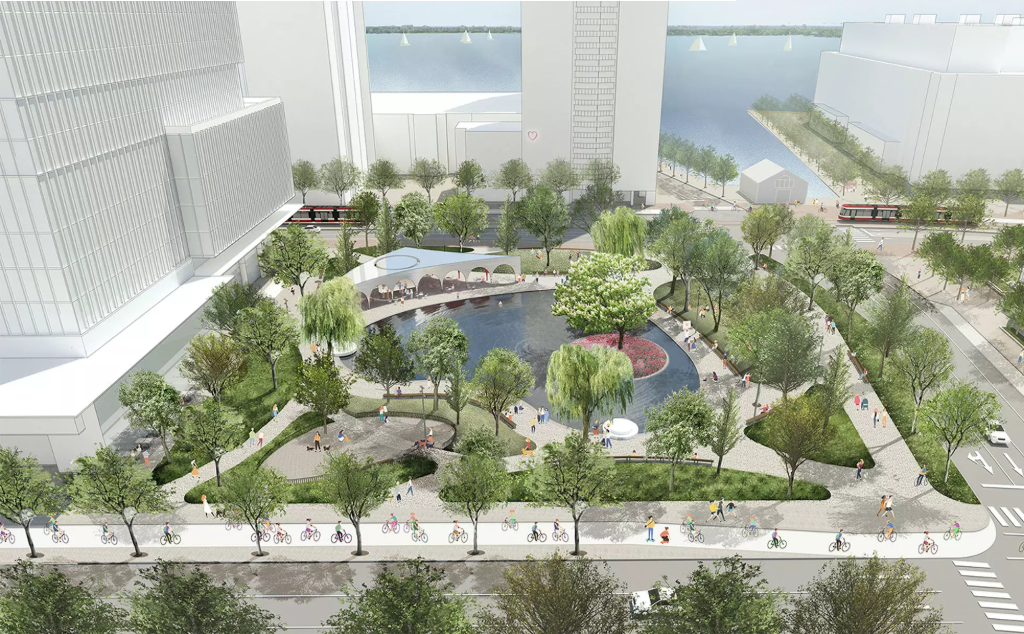 Toronto Unveils Designs For 2 New Waterfront Parks