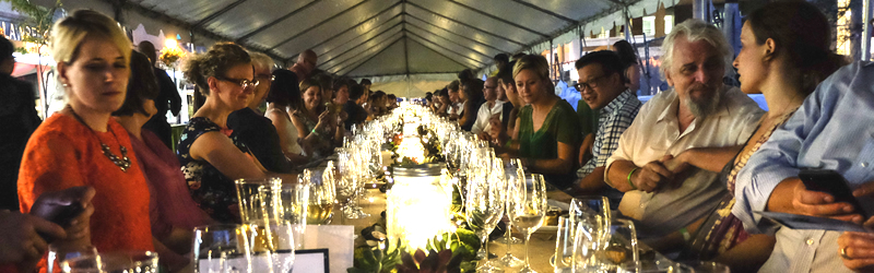 Feast Of St Lawrence Dinner Under The Stars