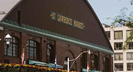 The St. Lawrence Market, Past & Present